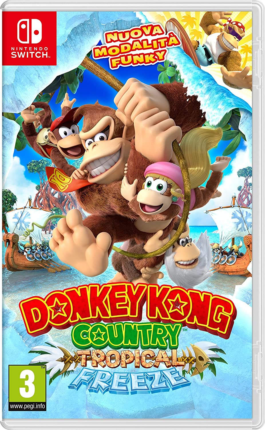 DONKEY KONG COUNTRY TROPICAL (NINTENDOSWITCH)